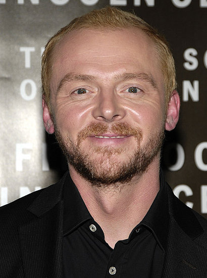 Simon Pegg plays Scotty