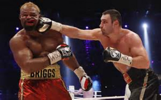 Vitali Klitschko beat a very tough and brave Shannon Briggs in defense of his heavyweight championship.