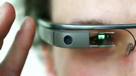 Google Glass allows you to search the web while you walk as well as read e-mail and use it as a GPS.