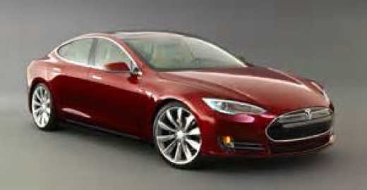 The Tesla Model S is a new form of technology for automobiles. This electric car can go nearly 300 miles on a single charge.