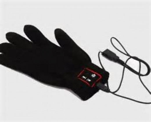 The Enable Talk Glove translates sign language to text in a smart phone.
