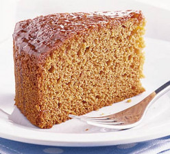15 Minute Recipe for Wild Honey Gingerbread Cake
