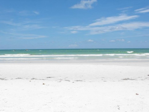 Crescent Beach Siesta Key, Florida