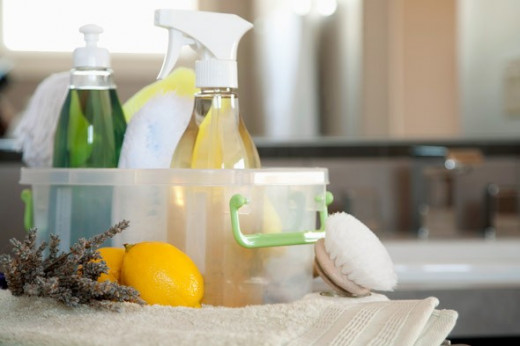 Using strong cleaning products can actually make your exposure to germs worse.