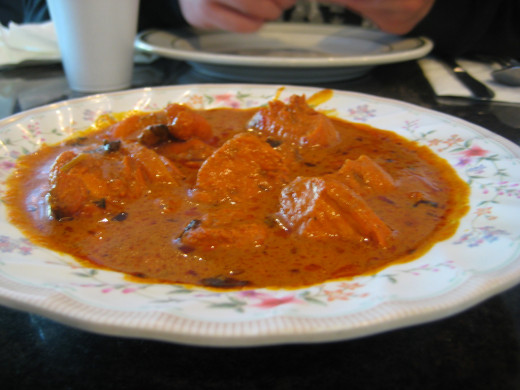Chicken Tikka Butter Masala