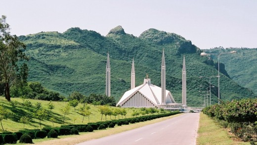 The Majestic Faisal Mosque