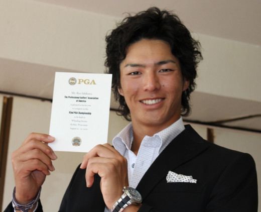 Ryo Ishikawa, PGA golfer from Japan.