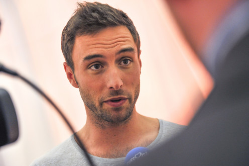 Mans Zelmerlow: Winner of Semi-Final 2