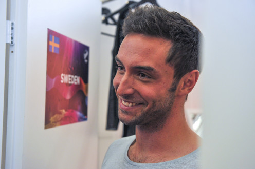 Mans Zelmerlow: Winner of the 2015 Eurovision Song Contest for Sweden
