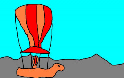 Balloon shows became popular in Europe.
