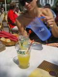 Lemonade as Sipped in a Parisien Cafe