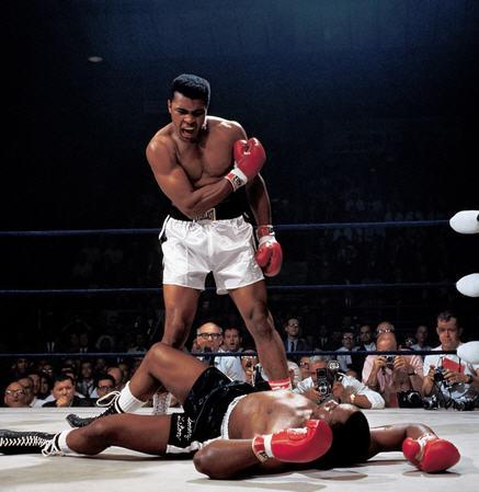 Ali breaking the rules