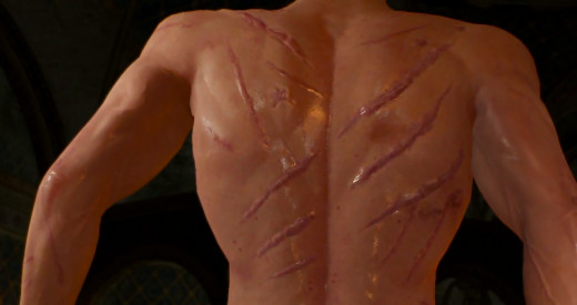 Man... such a badass. Wonder what caused these scars?