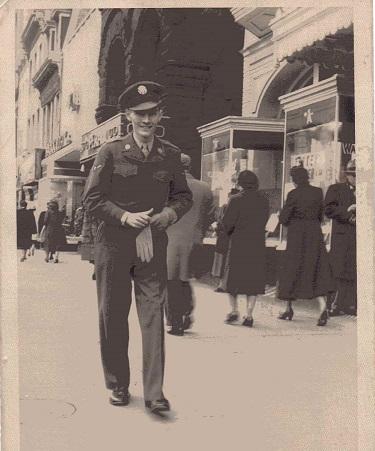 I believe this was taken in Washington, D.C. circa 1949.