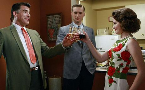 "Another scene from ""Mad Men,"" and more drinking."
