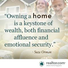 Suze Orman on Owning a Home