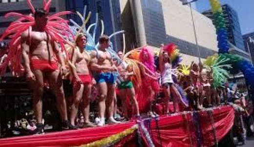 Gay Pride in Cape Town