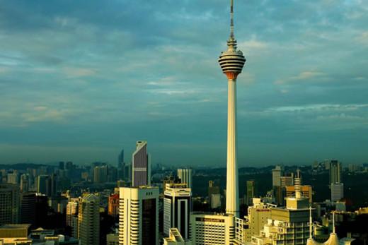 KL Tower - 360 Revolving restaurant on the top