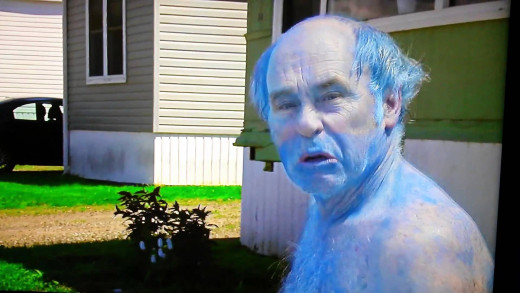 Jim Lahey has the blues-literally.