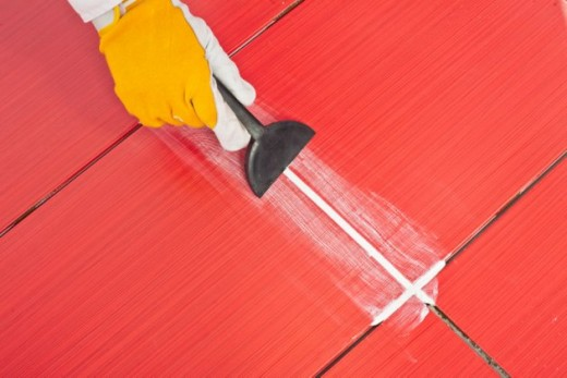 Tile Grouting Procedure