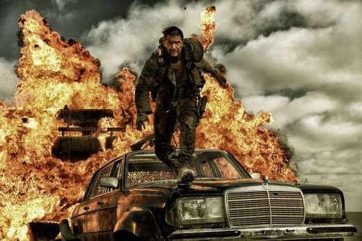 Tom Hardy as the new Mad Max