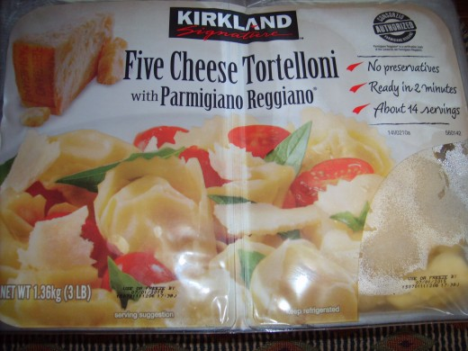 The type of tortelloni I use