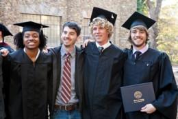 Montreat  University grads.