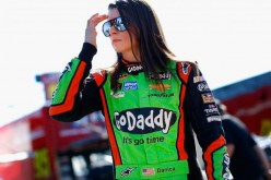Danica Patrick, a very popular female NASCAR driver.