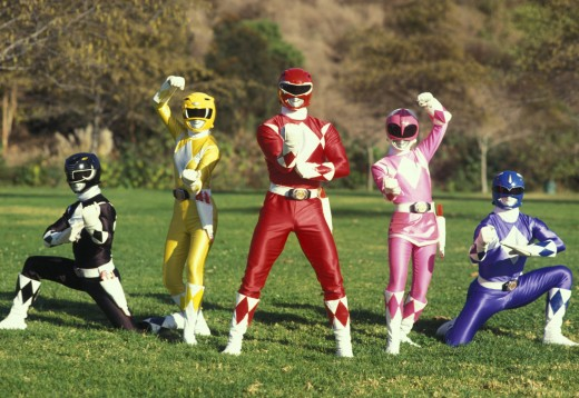 The Mighty Morphing Power Rangers
