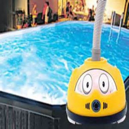 The Diver Dave above ground pool cleaner may be just what you need to keep your pool clean this swimming season.