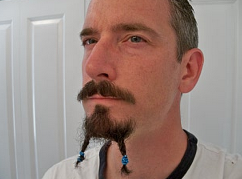 Braided beard? Make it easy on yourself and just buy some extensions.