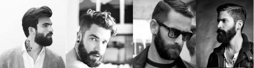 Hipster beards.
