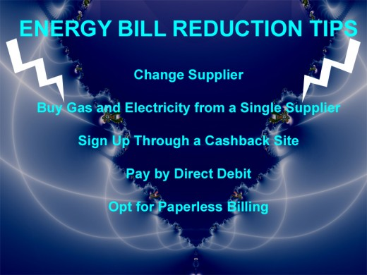 How to reduce your household energy bill