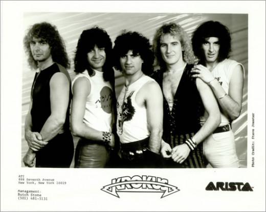 Krokus press photo, circa 1984