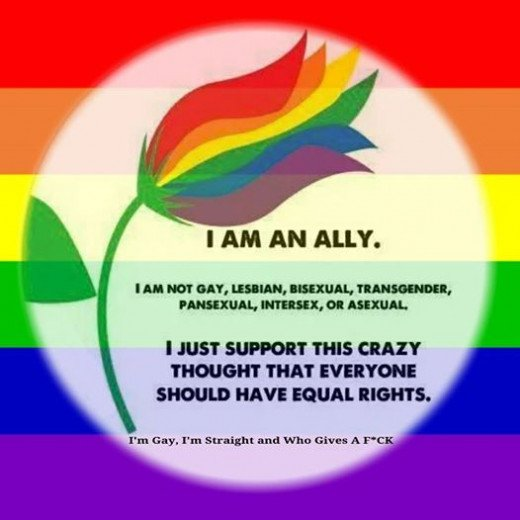 Be a beautiful ally flower!