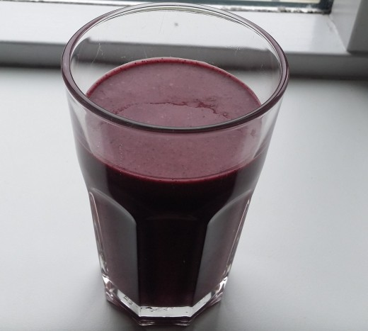 A delicious smoothie to enjoy in the morning