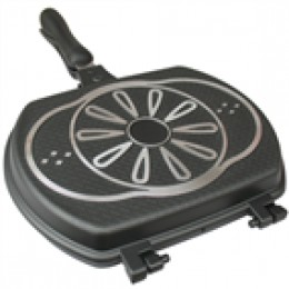 Double Sided BBQ Cooking Grill Pan