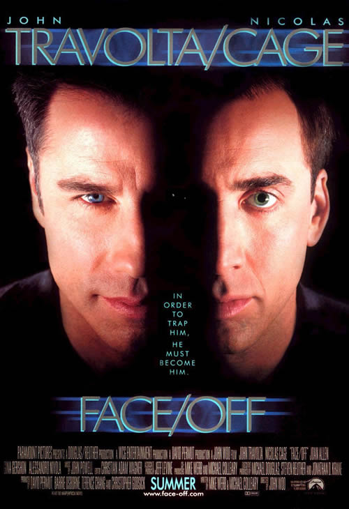 Poster for the movie Face/Off