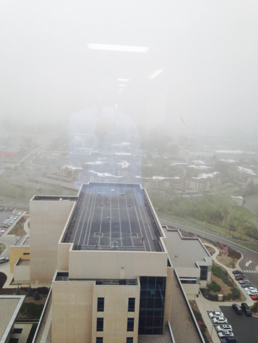 The 14th floor of Intermountain Medical Center in Salt Lake City. Anyone sick?