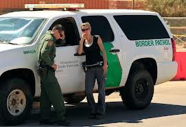You cannot sneak by the U.S. Border Patrol and Customs Agents.