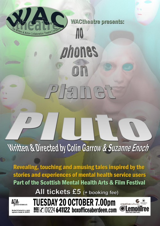 Poster for No Phones on Planet Pluto