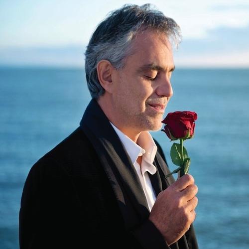 Bocelli Smelling a Rose