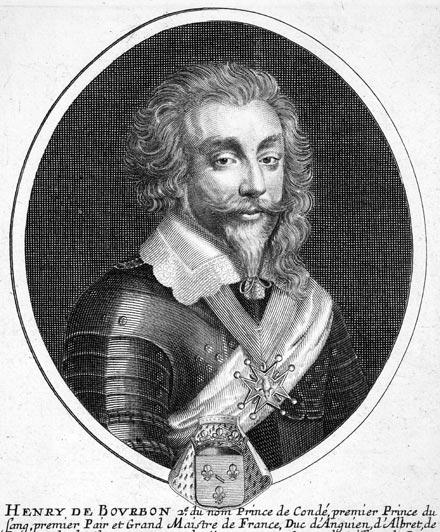 Henri, the prince of Bourbon-Condé