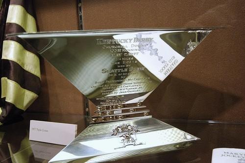 Seattle Slew's Triple Crown Trophy