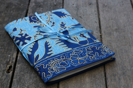 Fabric Book Covers Make Your Own : Creative journaling tips and theme ideas hubpages