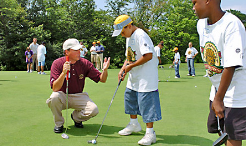 Youth clinics are vital in helping to grow the game.