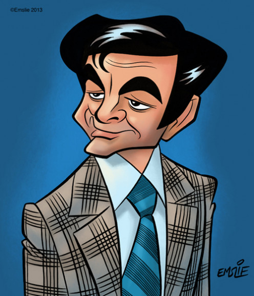 Great characture of Mike Connors.