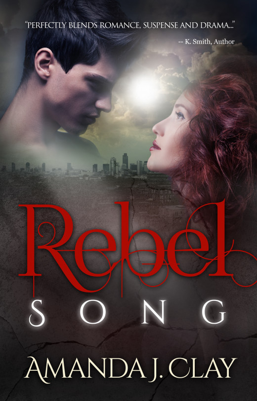 "Cover of Clay's book, ""Rebel Song."""