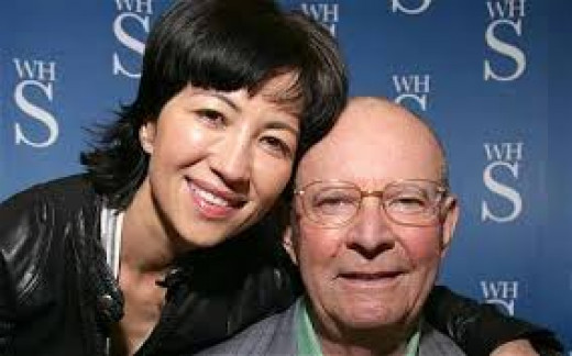 Wilbur Smith and 4th wife Mokhiniso
