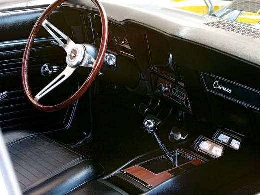 Camaro Z/28 Interior